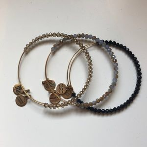 Alex and Ani beaded bracelets